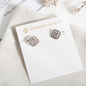 Kendra Scott Dira Stud Earrings in Silver